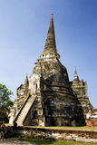 Ayutthaia, thailand, travelers' mecca. Temples and pagodas in Ayutthaia, ancient capital of Thai kingdoms, near Bagkok Stock Photo