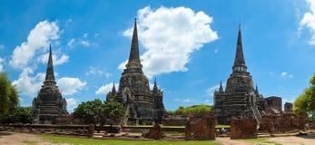 ayutthaya三个塔 免版税库存图片