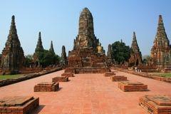 ayutthaya寺庙泰国 库存照片