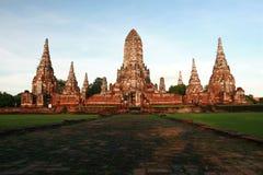 ayutthaya寺庙泰国 免版税库存照片
