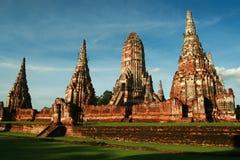 ayutthaya寺庙 图库摄影
