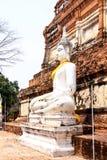 ayutthaya老被破坏的寺庙泰国 免版税库存图片