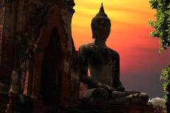 Ayutthaya świątynia Tajlandia zdjęcie stock