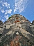 Ayutthaya, αρχαίες καταστροφές, παλαιό κεφάλαιο, Μπανγκόκ, Ταϊλάνδη Στοκ Εικόνες