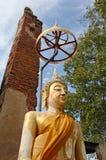 ayutthaya Βούδας Στοκ Φωτογραφίες
