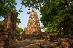 Ayutthaya, η αρχαία πόλη Thailan στοκ εικόνα με δικαίωμα ελεύθερης χρήσης