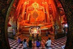 ayutthaya ο μεγάλος Βούδας Ταϊλά&n στοκ εικόνες