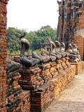 Ayutthaya: Παγκόσμια κληρονομιά Στοκ εικόνα με δικαίωμα ελεύθερης χρήσης