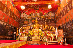 AYUTTHAYA, ΤΑΪΛΑΝΔΗ 27 ΙΟΥΝΊΟΥ 2013: Wat Phanan Choeng. Στοκ φωτογραφίες με δικαίωμα ελεύθερης χρήσης