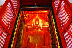 Ayutthaya-ΤΑΪΛΑΝΔΗ: Καταστροφές του μοναστηριού, καταστροφές του παλαιού π στοκ εικόνα