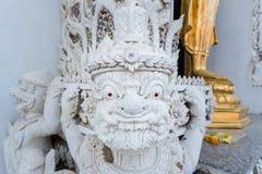 Ayutthaya, Ταϊλάνδης - 11 Μαρτίου, 2017: Άγαλμα φυλάκων Buddh Στοκ εικόνα με δικαίωμα ελεύθερης χρήσης