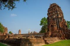 Ayutthaya, древний город Thailan стоковое изображение rf
