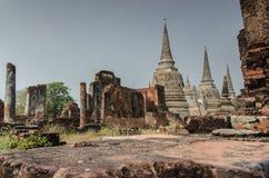 Ayutthaya Fotografia Royalty Free