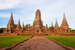 Ayutthaya ancient Stock Photography