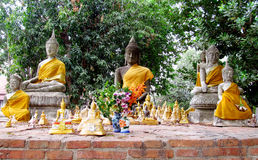 Ayutthaya ancient city ruins Stock Photography