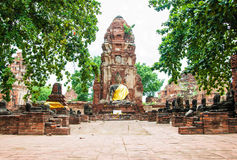 Ayutthaya Ancient Historical Park Stock Photos