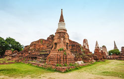 Ayutthaya Ancient Historical Park Stock Photo