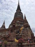 Ayutthaya ancient temple in Thailand. Pagoda Ayutthaya historical temple in Thailand Stock Photos