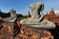 ayutthaya bangkok chai nära thawatwattanaram Arkivfoton