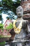Ayutthaya besök Thailandia Royaltyfria Foton