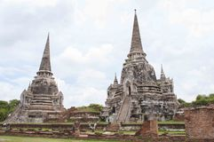 Ayutthaya besök Thailandia Royaltyfri Bild