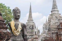Ayutthaya besök Thailandia Royaltyfri Foto