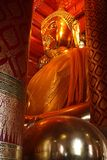 Ayutthaya Big Buddha Statue Royalty Free Stock Photography