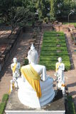 ayutthaya Buddha Obrazy Royalty Free
