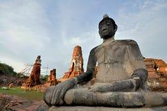 ayutthaya Buddha Fotografia Stock