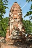 ayutthaya Buddha statua zdjęcie royalty free