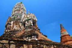 ayutthaya buddhist rujnuje świątynię Zdjęcie Royalty Free