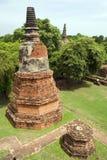 Ayutthaya Chedi Royalty Free Stock Photo