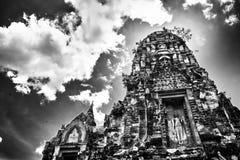 Ayutthaya chedi Obraz Stock