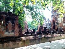 Ayutthaya 1, de Werelderfenis Stock Foto's