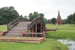 Ayutthaya-Erbpark Lizenzfreie Stockfotografie