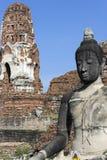 Ayutthaya fördärvar Fotografering för Bildbyråer