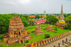 Ayutthaya Historical Park Royalty Free Stock Images