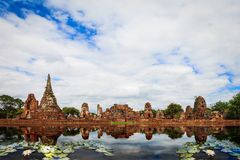 Ayutthaya Historical Park Royalty Free Stock Photos