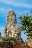 Ayutthaya Historical Park ancient Wat ruins Stock Photo
