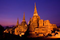 Ayutthaya Historical Park in Thailand Stock Photos