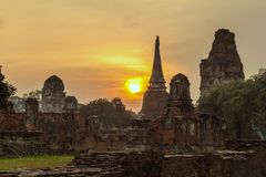 Ayutthaya Historical Park, Thailand Stock Photography
