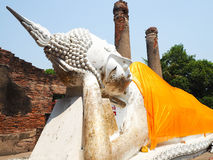 Ayutthaya historical park Royalty Free Stock Photography
