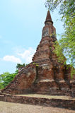 Ayutthaya Historical Park Thailand. A UNESCO World Heritage Site, Ayutthaya's historic temples are scattered throughout this once magnificent city and along the Royalty Free Stock Image