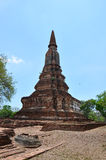 Ayutthaya Historical Park Thailand. A UNESCO World Heritage Site, Ayutthaya's historic temples are scattered throughout this once magnificent city and along the Stock Photos