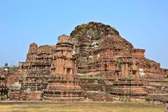Ayutthaya historisch park Thailand Stock Foto