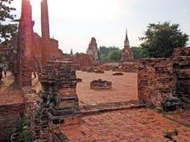 Ayutthaya histrical park Stock Image