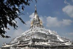ayutthaya khao phu泰国wat 免版税图库摄影