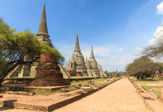 Ayutthaya Kingdom,Thailand Royalty Free Stock Images