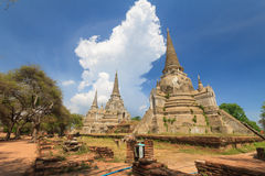 Ayutthaya Kingdom,Thailand Stock Photo