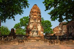 Ayutthaya, la ciudad antigua de Thailan imagen de archivo libre de regalías